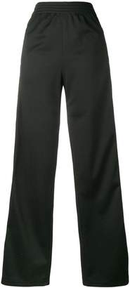 Givenchy Black logo stripe track pants