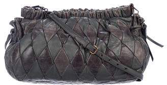 Miu Miu Quilted Harlequin Crossbody Bag