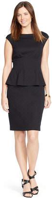 American Living Peplum Sheath Dress $89 thestylecure.com
