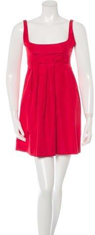 pradaPrada Sleeveless Mini Dress