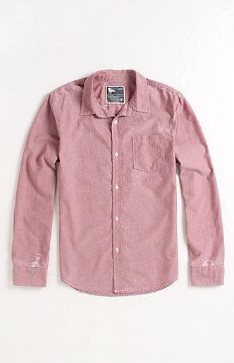 Modern Amusement Brickhouse Long Sleeve Woven Shirt