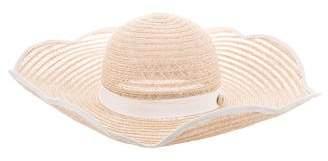 Chanel Straw Sun Hat