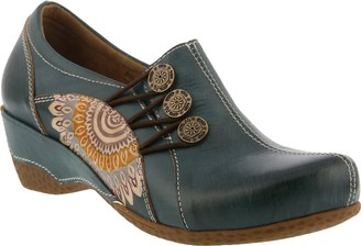 Spring Step L'Artiste Leather Slip-On Shoes - Agacia