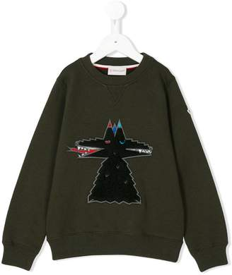 Moncler embroidered sweatshirt