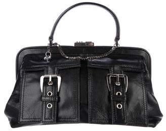 Celine Grained Leather Handle Bag