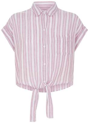 Rails Amelie Striped Crop Shirt