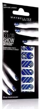 Maybelline Color Show Fashion Prints Nail Stickers