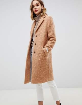 Gianni Feraud teddy oversized coat
