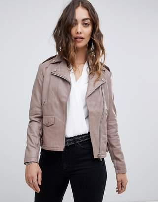 Religion rider leather jacket