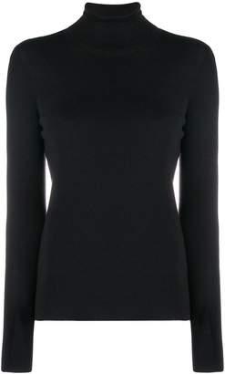 Prada stretch knit turtleneck sweater