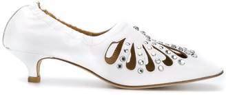 Toga Pulla embellished low heel pumps