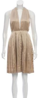 Stella McCartney Pleated Sleeveless Dress