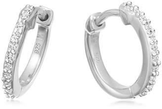 Missoma Huggie Sterling Silver Hoop Earrings