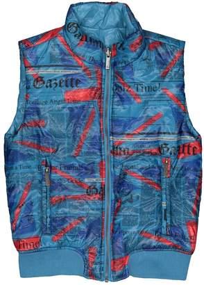 John Galliano Blue Polyester Jacket & Coat