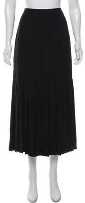 Chanel Pleated Midi Skirt