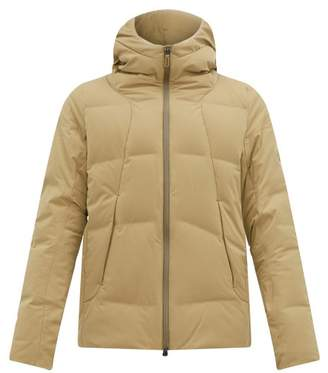 Descente Allterrain - Shuttle Hooded Down Filled Jacket - Mens - Khaki