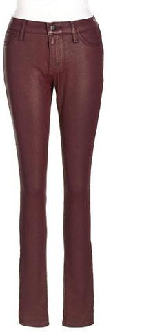 DKNY Ave B Coated Stretch Skinny Pants