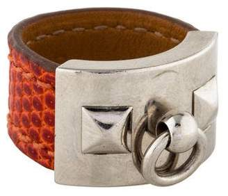 Hermes Lizard Collier de Chien Ring