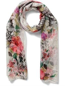 Gregory Ladner Liberty Floral Scarf