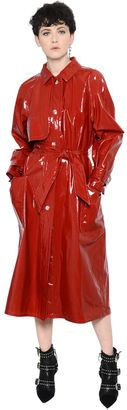 Coated Cotton Trench Coat With Belt $1,580 thestylecure.com