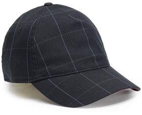 Rag & Bone Marilyn Checked Cotton-blend Baseball Cap