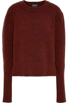 Markus Lupfer Megan Brushed Wool-blend Sweater