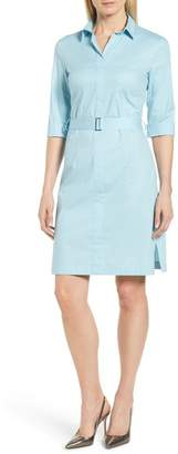BOSS Dashiri Stretch Poplin Dress (Regular & Petite) (Nordstrom Exclusive)