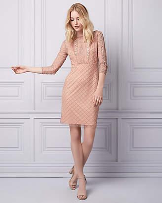 Le Château Sequin Illusion Dress