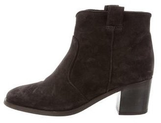 Laurence Dacade Suede Ankle Boots $230 thestylecure.com