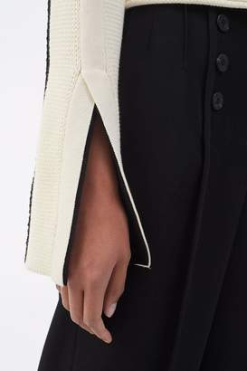 3.1 Phillip Lim Straight Leg Wool Trouser