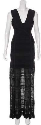 Herve Leger Miriam Bandage Gown