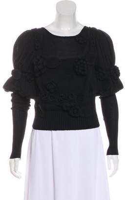 Chanel Crochet Knit Top