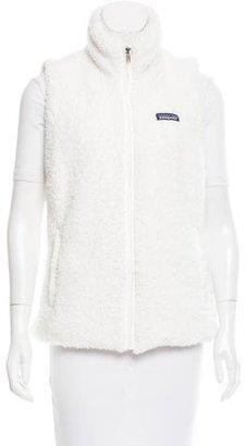 Patagonia Textured Zip-Up Vest $65 thestylecure.com