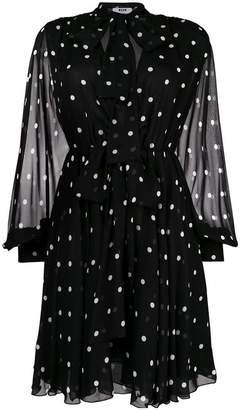 MSGM polka dot mini dress