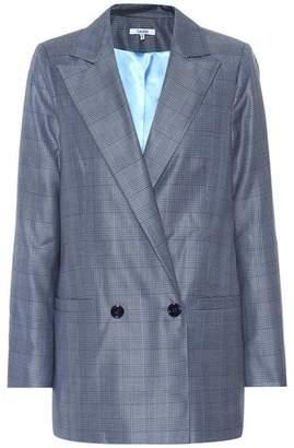 Ganni Silk and wool blazer