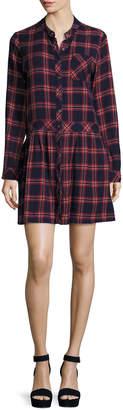 Current/Elliott The School Dress, Ranch Plaid