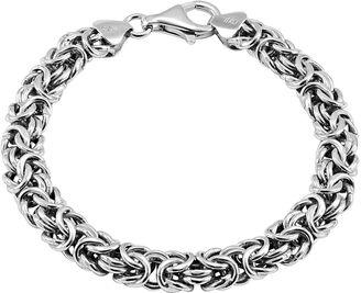 FINE JEWELRY Sterling Silver Byzantine Bracelet $312.48 thestylecure.com