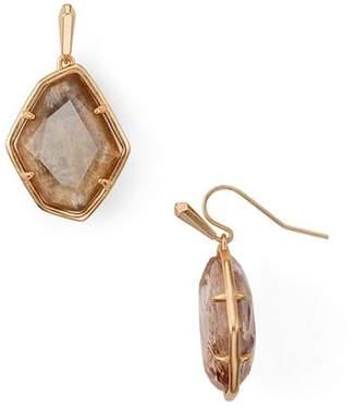 Kendra Scott Dax Faceted Geometric Drop Earrings