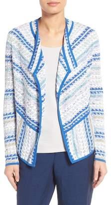 NIC+ZOE Prism Stitch Cardigan $158 thestylecure.com