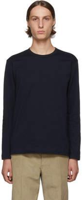Comme des Garcons Navy Forever Basic Long Sleeve T-Shirt