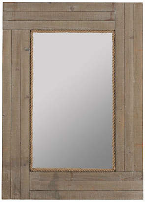 "One Kings Lane Hatteras 30""x41"" Wall Mirror - Gray"