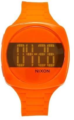 Nixon Women's A168877 Dash Orange Rubber Orange dial Watch
