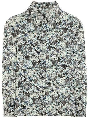 Saint Laurent Lamé printed shirt