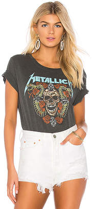 Daydreamer Metallica Skull And Roses Tee