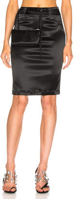 Alyx Stylo Skirt with Pouch in Black | FWRD