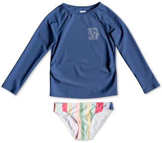 Roxy Little Girls Rash Guard Swimsuit