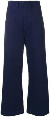Bellerose cropped wide leg trousers