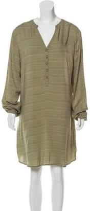 Burton Printed Long Sleeve Mini Dress w/ Tags