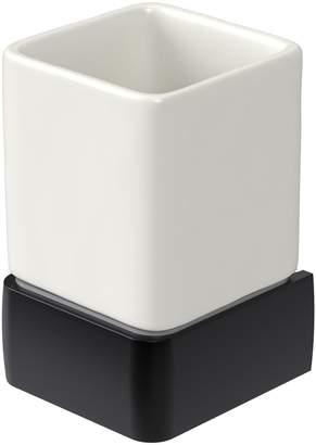 Aqualux Haceka Aline Ceramic Tumbler – Black