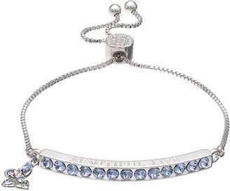 "Brilliance+ Brilliance ""Beautiful Life"" Adjustable Bracelet with Swarovski Crystals"